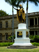Kamehameha the Great, Honolulu