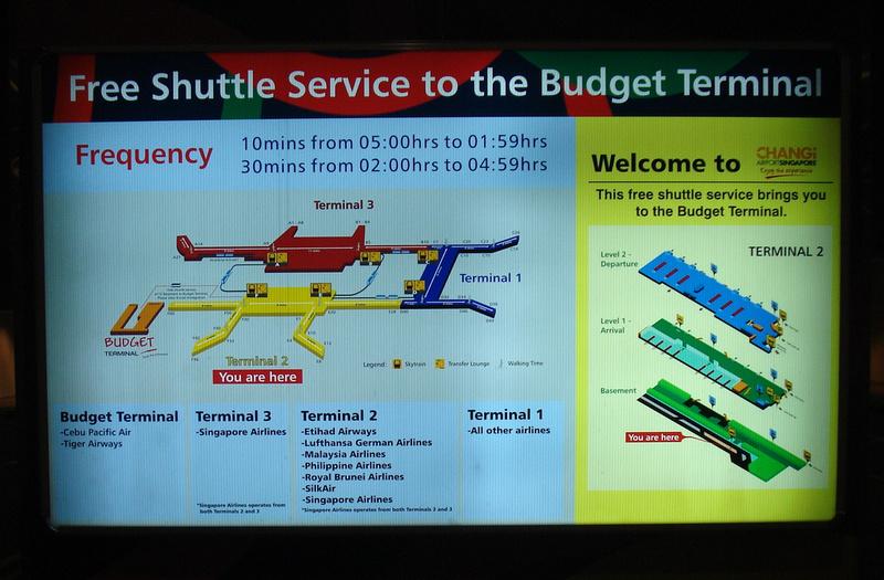 Singapore Budget Terminal Shuttle