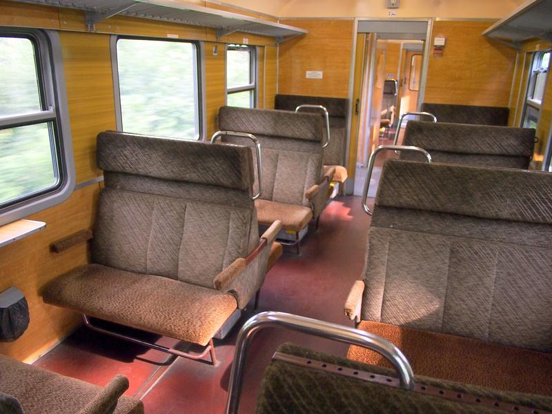 Regional Train seats - Poland