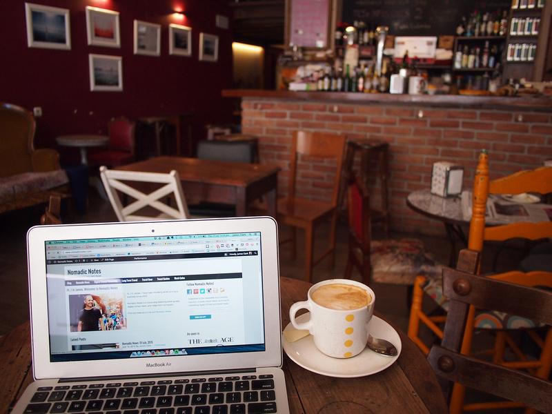 Working in San Sebastian