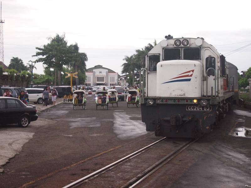 Train in Yogyakarta - Java