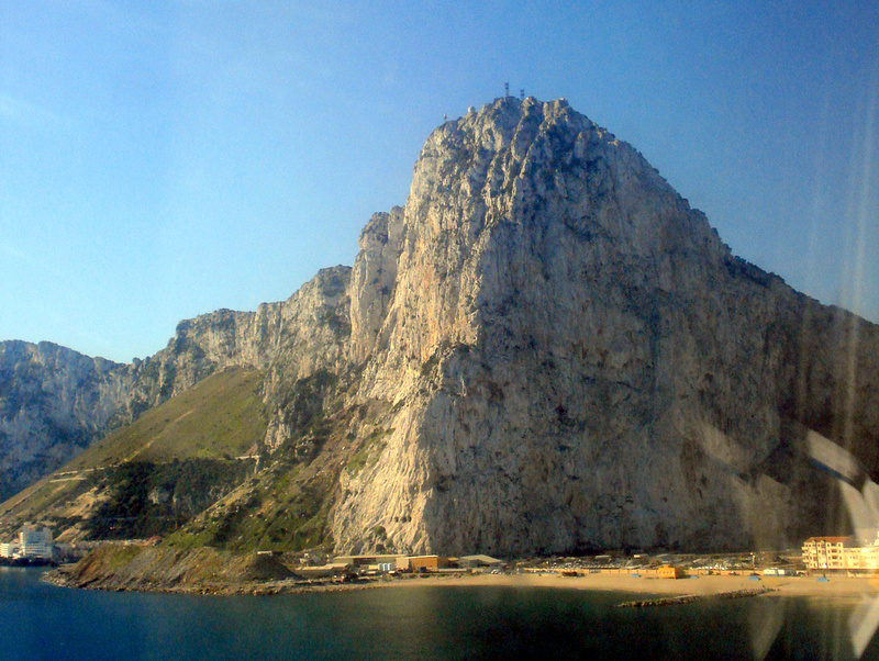 Rock of Gibraltar Landing View