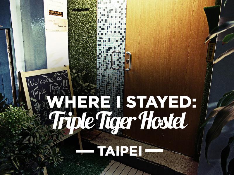 Triple Tiger Hostel, Taipei