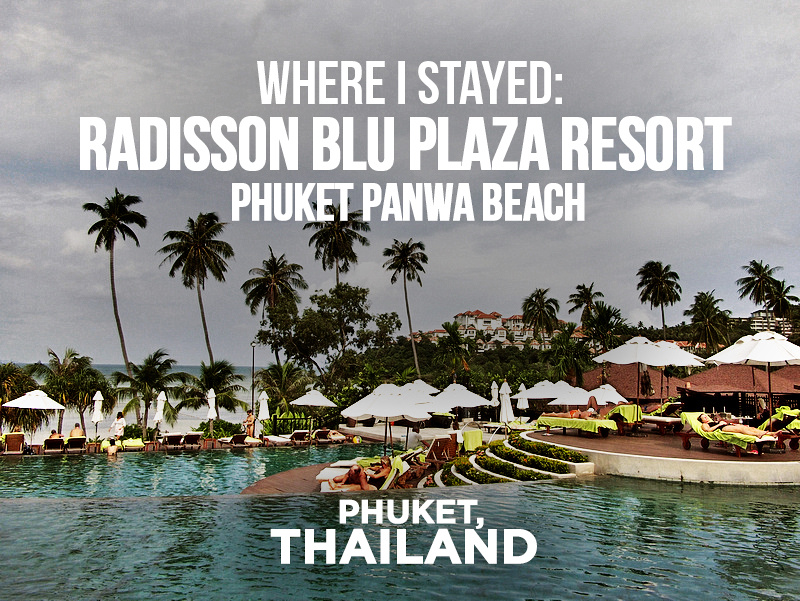 Hotel Review: Radisson Blu Plaza Resort Phuket Panwa Beach, Phuket - Thailand