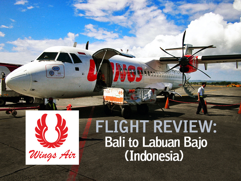 Flight Review: Wings Air - Bali to Labuan Bajo [Indonesia]