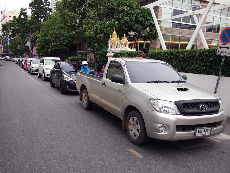 Soi traffic nightmare