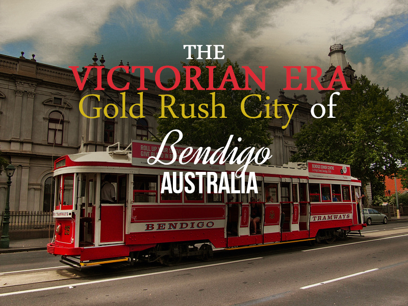 The Victorian-era gold rush city of Bendigo - Australia