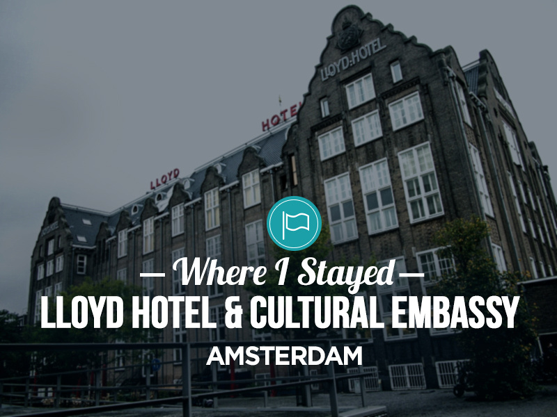 hotel review lloyd hotel cultural embassy amsterdam. Black Bedroom Furniture Sets. Home Design Ideas