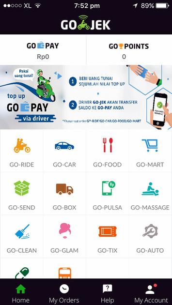 Gojek Services
