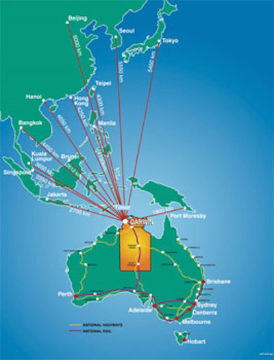 Darwin is Asia's gateway to Australia
