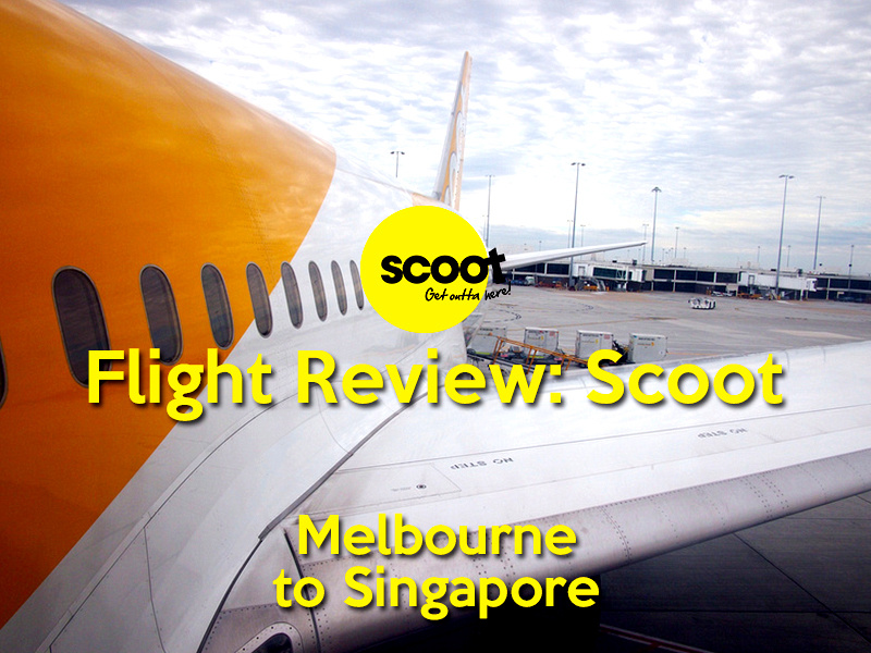 scoot flight tickets