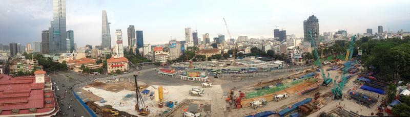 Saigon panorama - April 2017