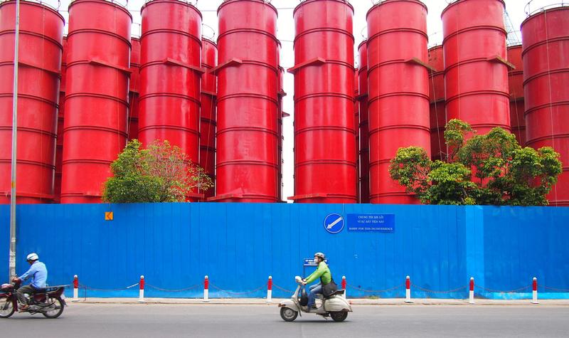 Ben Thanh cement silos