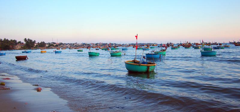 Mui Ne boats