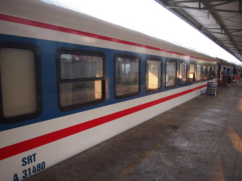 Phan Thiet to Saigon train