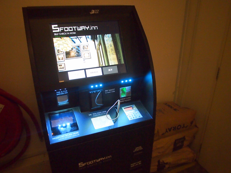 Check-in machine