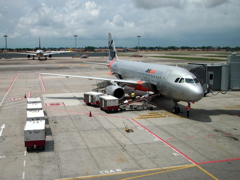 Jetstar Asia at Singapore
