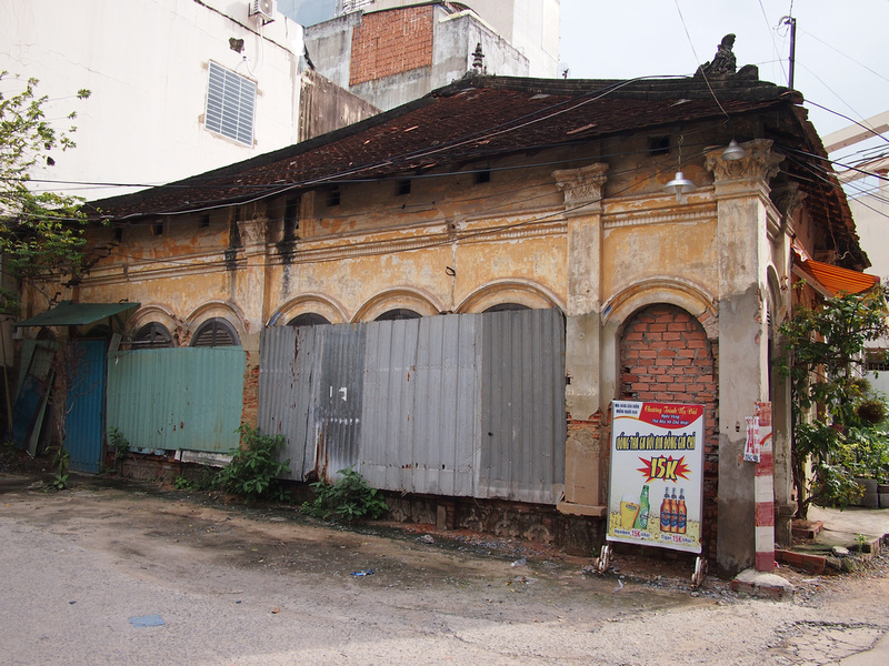 Old house in Binh Thanh District