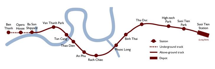 Saigon Metro - Line 1