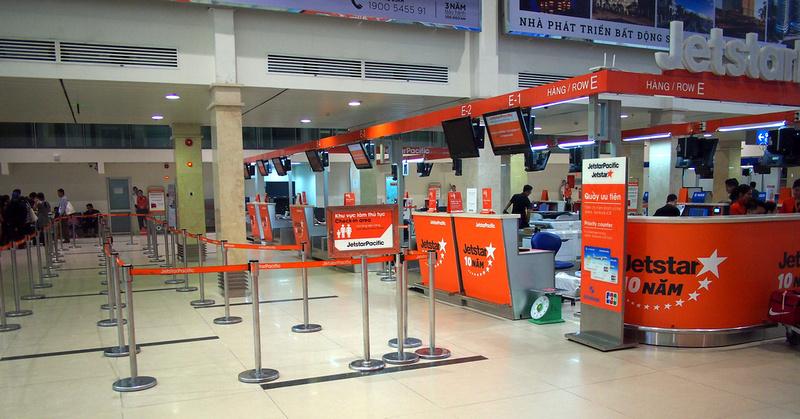 Jetstar domestic check-in