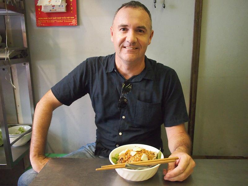 James at Bun Bo Nam Bo
