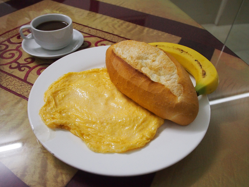 Hanoi Asia Guest House breakfast