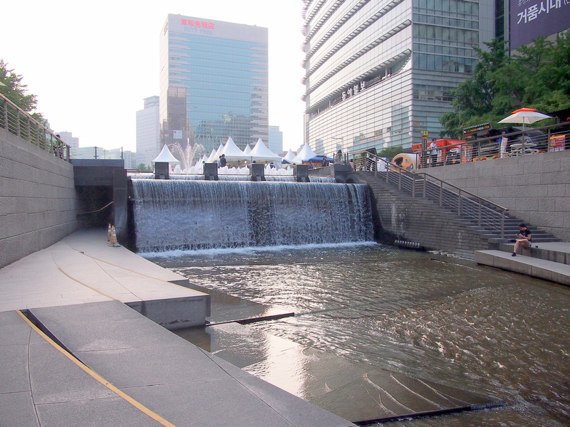 Cheonggyecheon Stream source