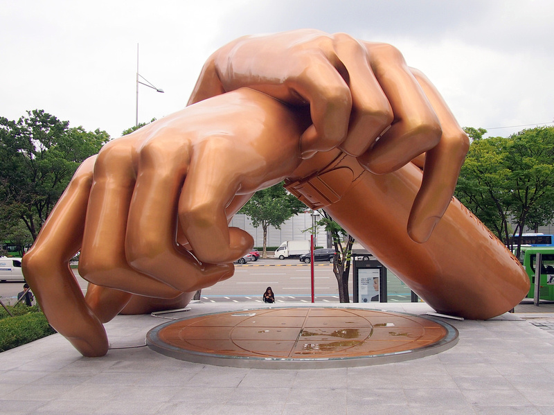 Gangnam Style monument