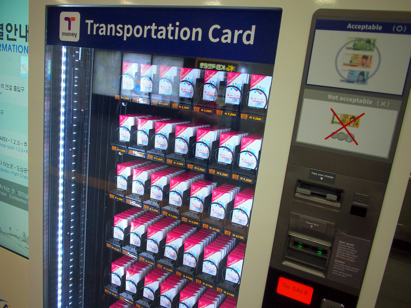 T-card vending