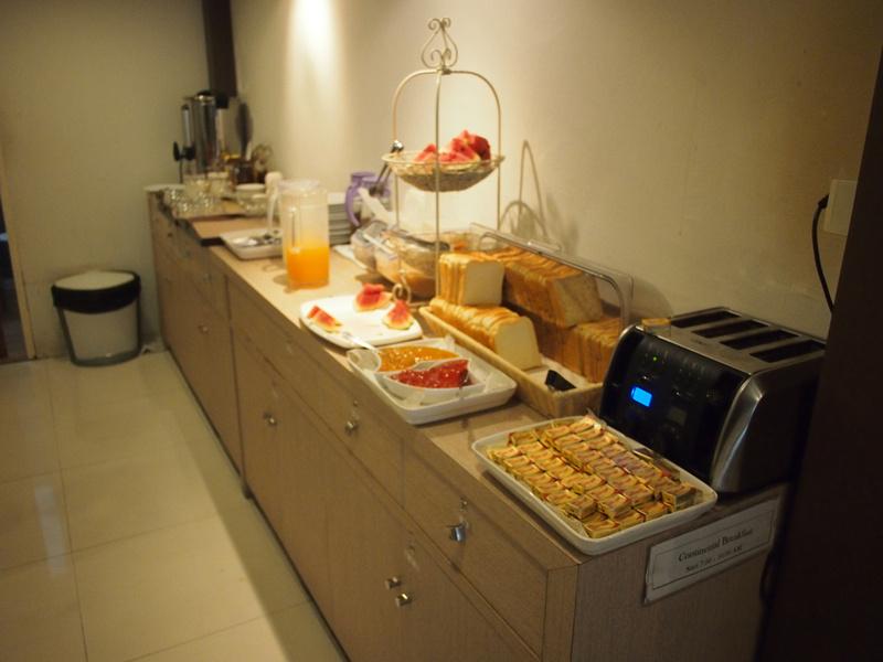 Nantra breakfast
