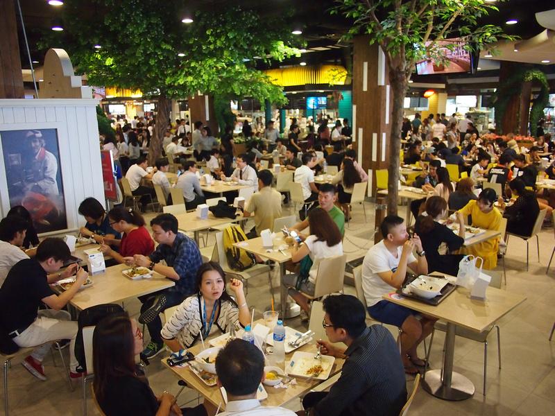 Terminal 21 food court