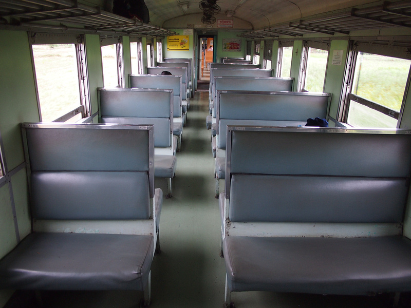 Train 260 - 3rd class seats
