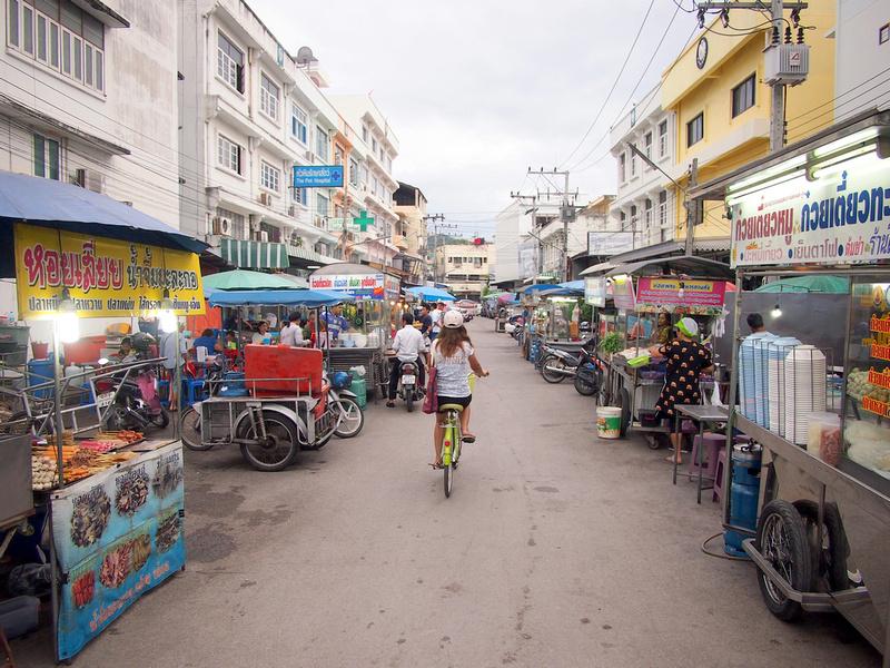 Soi.55/1, Petchakasem Road food market