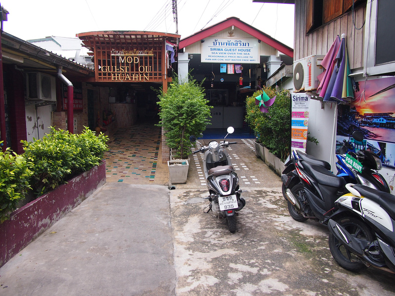Pier guesthouses