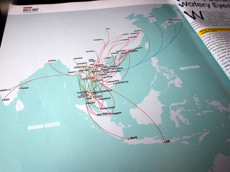 Thailand AirAsia routes