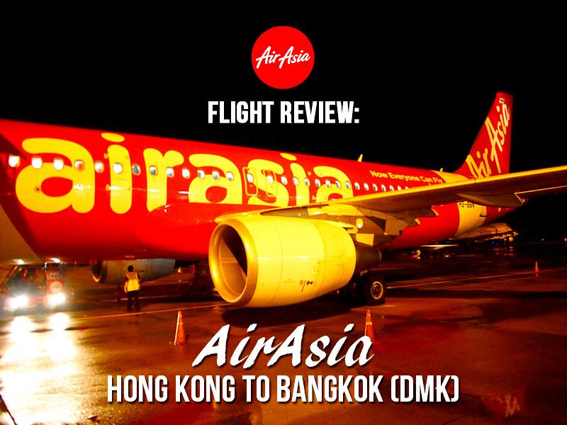 Flight Review: AirAsia – Hong Kong to Bangkok (DMK)