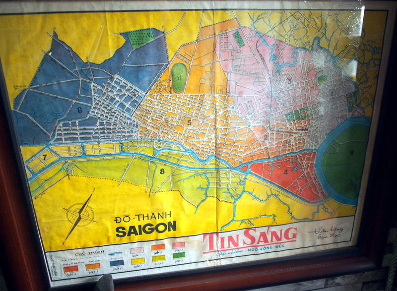 Old Saigon map