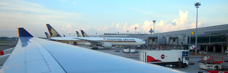 Singapore Airlines at Singapore