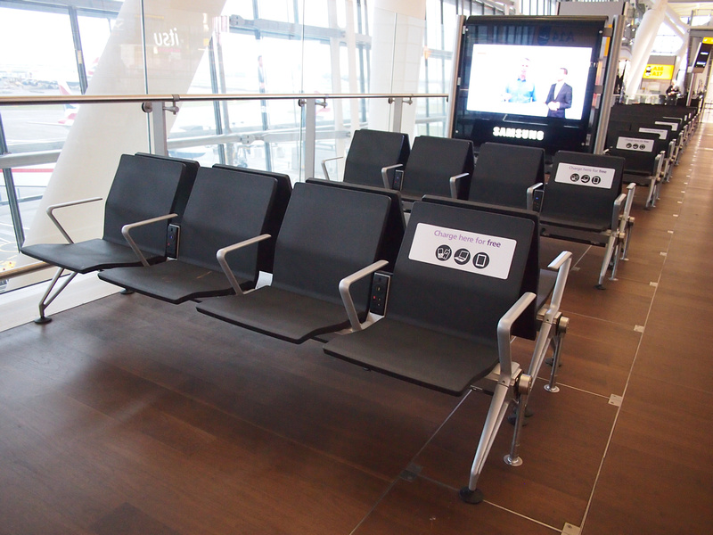 Charging seats
