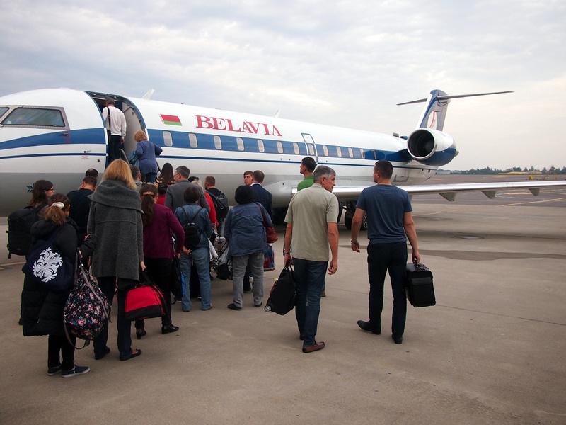 Boarding in Vilnius