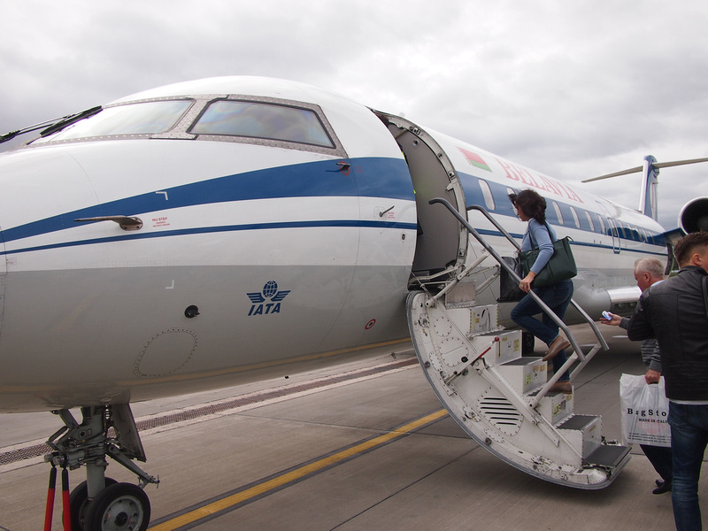 Boarding at MSQ