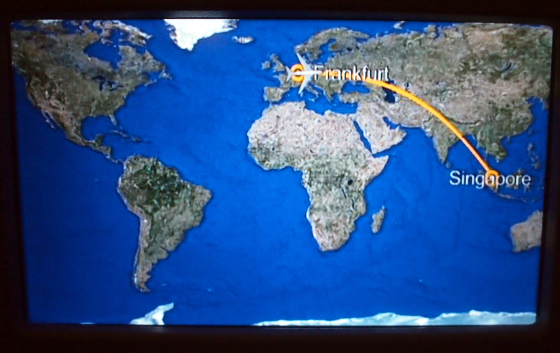 Flight Review: Lufthansa – Berlin -> Frankfurt -> Singapore