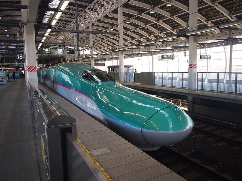 Shinkansen at Hachinohe