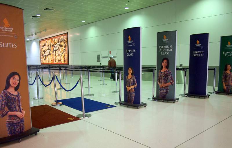 Sydney Airport Singapore check-in