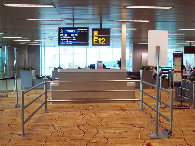 Singapore Changi Airport Gate E12