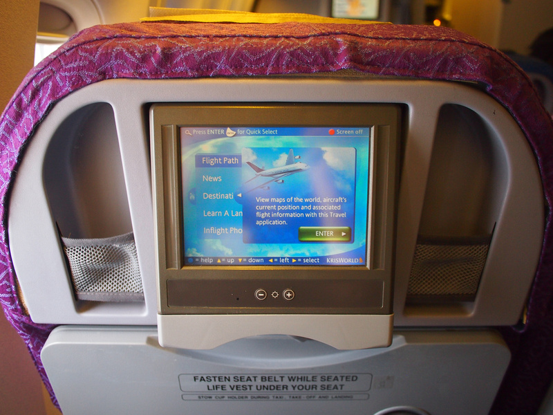 Inflight screen