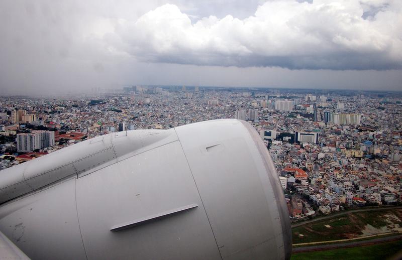 Rainy season in Saigon