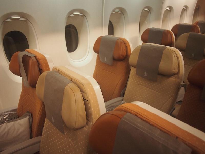 A380 seats - economy