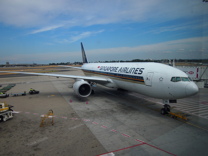 Singapore Airlines at SYD
