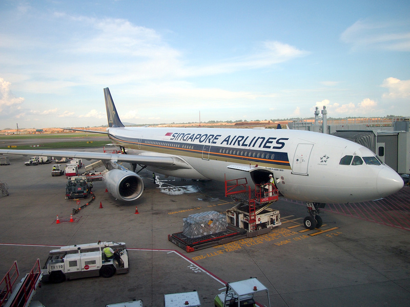 Singapore Airlines SQ186 to SGN